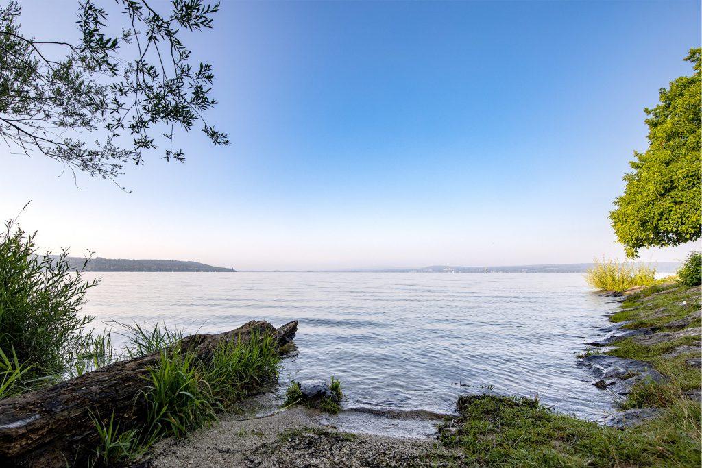 Das Ufer vom Ammersee