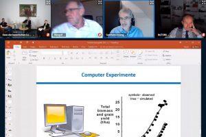 Online Meeting mit PowerPoint Präsentation